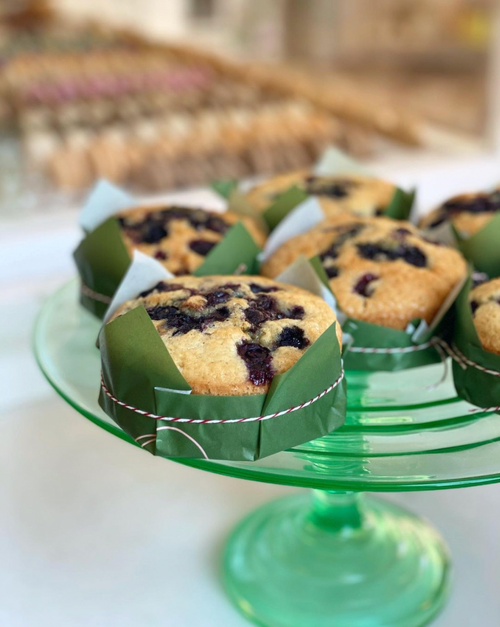 Lemon Blueberry 1/2 LB Cake