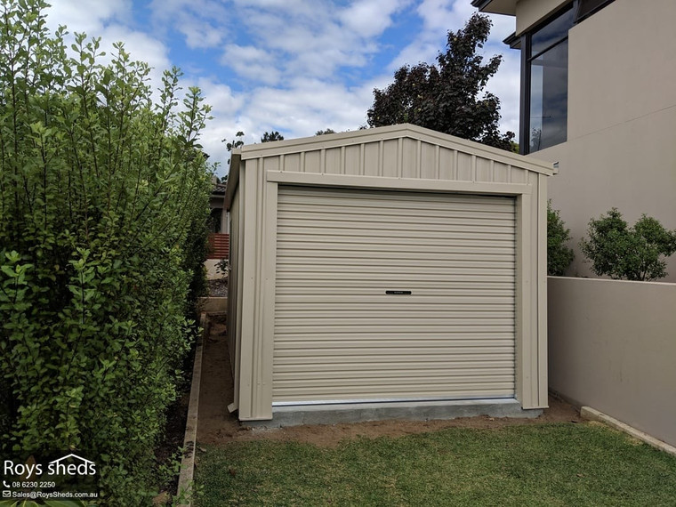 6m x 3m x 2.5m Single Parking Shed Gooseberry Hill