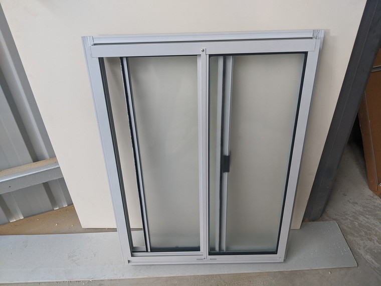 Aluminium Toilet Window 790mm x 589mm for Sheds