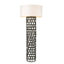 Vallin 1-Light Black Gold Floor Lamp