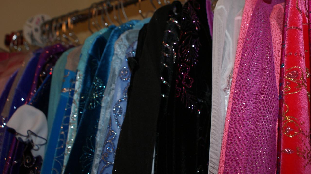 Ice Skating Dresses in Stock