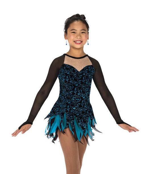 Peacock Plume Dress