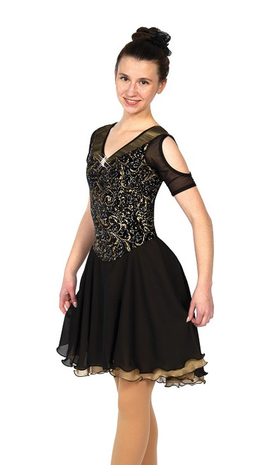 All That Glitters Ice Dance Dress