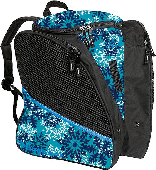 Teal Snowflake Transpack Bag