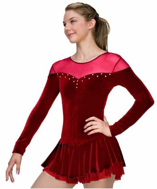 Chloe Noel Dress DLV04 in Red