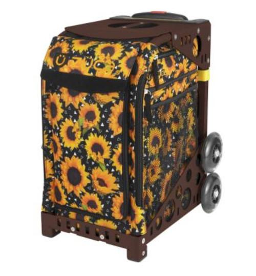 Sunflower Power Zuca w/Brown Frame
