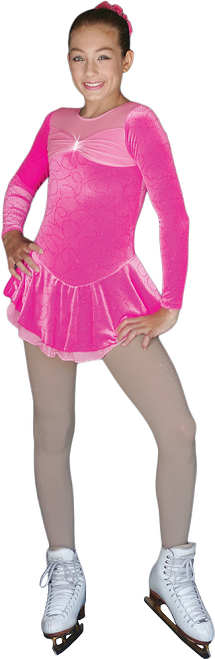 Chloe Noel Skating Dress DLV688*