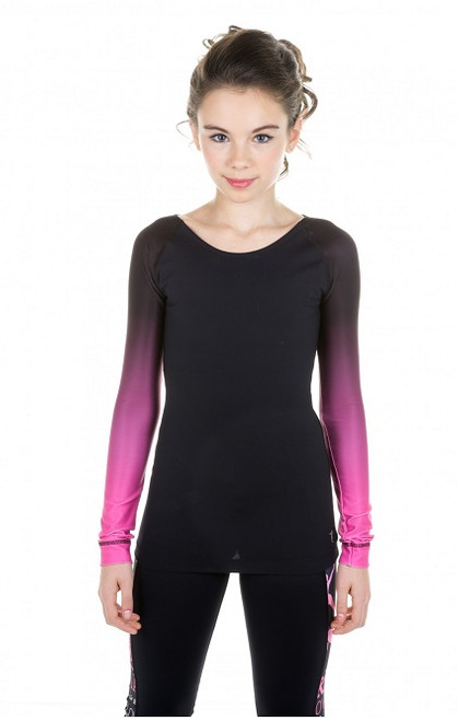 Elite Xpression Faded Top - Pink