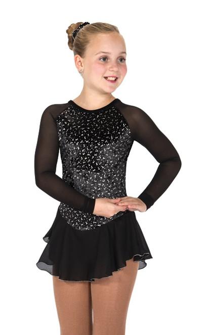 Jerry's 11 Diamond Chips Skating Dress - Black