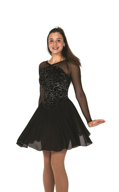 Jerry's 153 North Wind Waltz Dress - Black Onyx