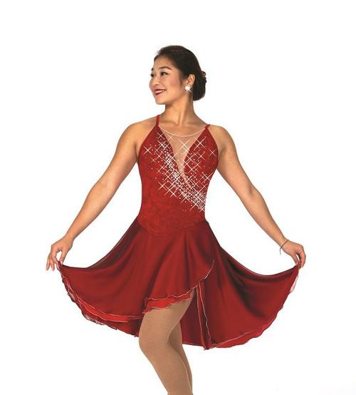 Jerry's 155 Garnet Glam Ice Dance Dress