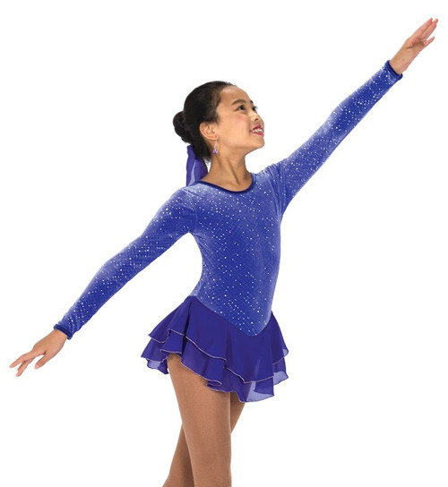 Jerry' s 157 Royal Purple Skating Dress