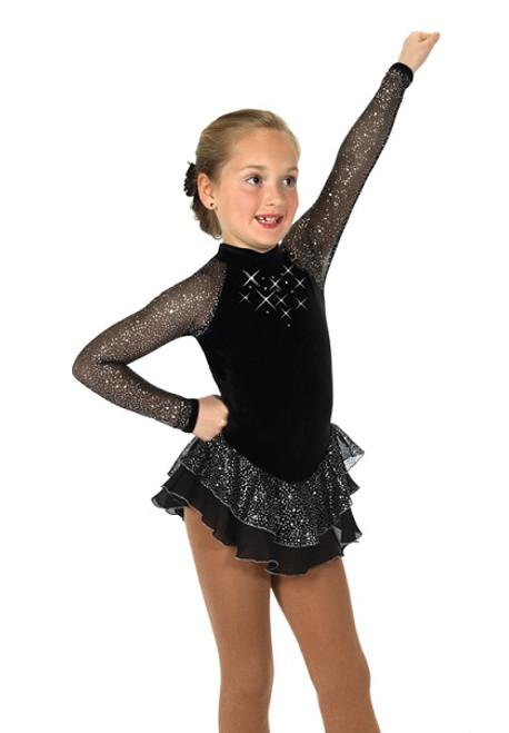 Starshine Skating Dress - Jet Black