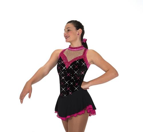 Jerry's 211 Westborough Skating Dress - Black/Pink