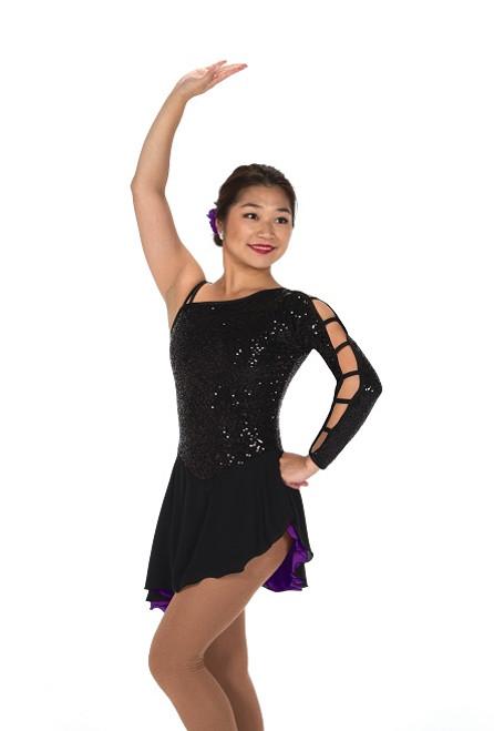 Jerry's 222 Hidden Talents Skate Dress - Black/Purple