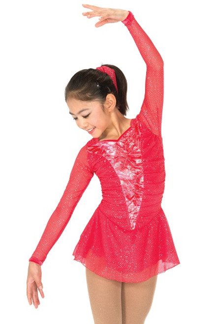 Frosty Cherry Skating Dress