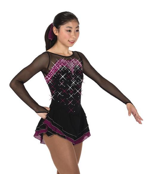 Jerry's 252 Crystal Cavalcade Dress - Black/Sangria