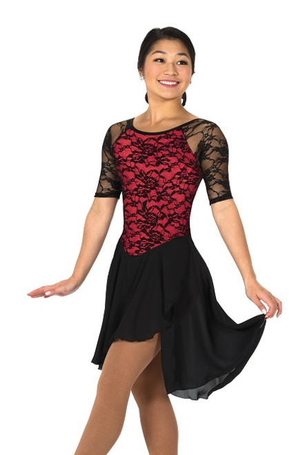 Jerry's 273 Classic Lace Dance Dress - Red