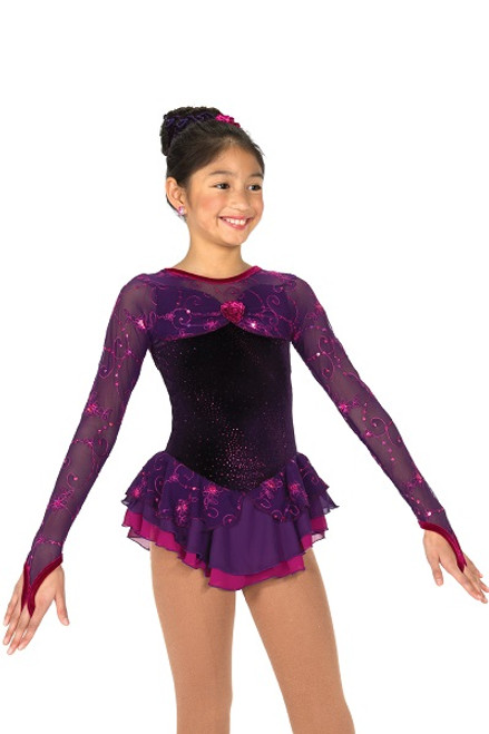 Plum to Perfection Skating Dress