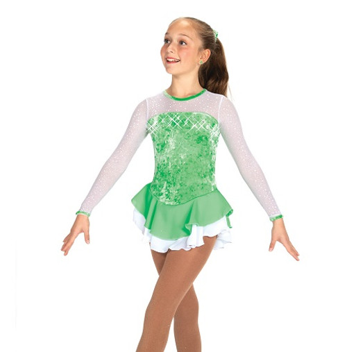 Frosty Air Skating Dress - Wintergreen