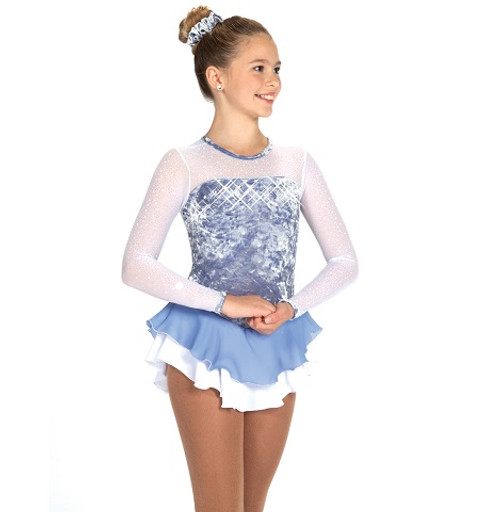 Frosty Air Skating Dress - Frost Blue