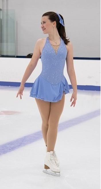 Misty Morning Skating Dress