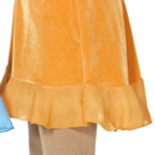 Ruffled Box Skirt - Lime Color Only
