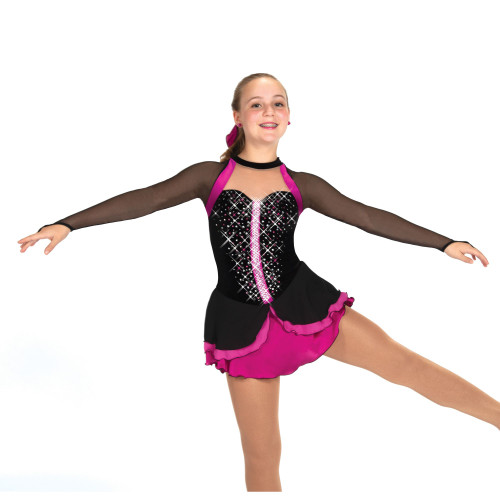 Magenta Major Skate Dress