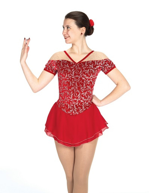Jerry's 532 Chanteuse Dress - Ruby Red