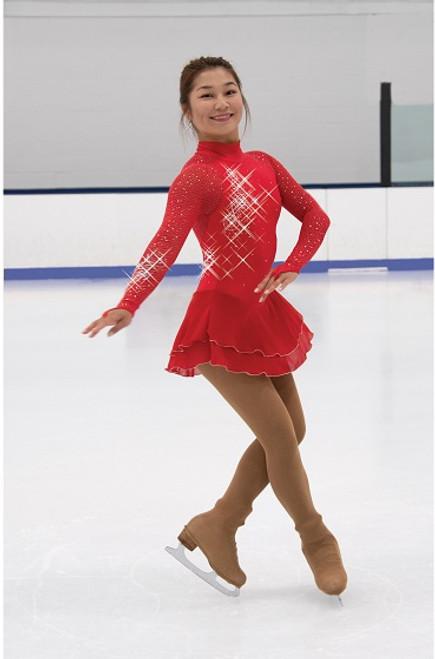 Flamestone Skating Dress