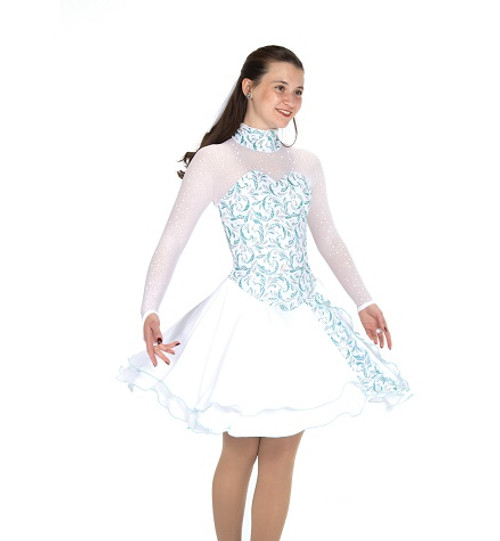 Dancing in the Snow Dress