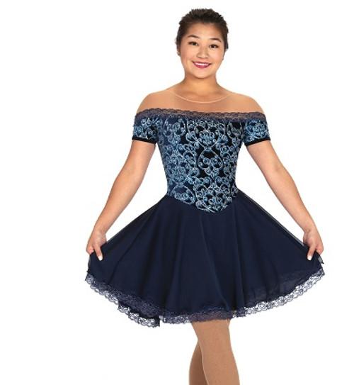 Jerry's 557 Sapphire Salsa Dance Dress