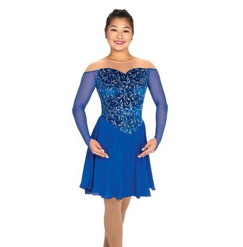 Tango & Twirl Dance Dress - Royal Blue