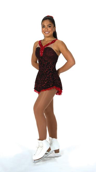 Roses Are Red Skate Dress