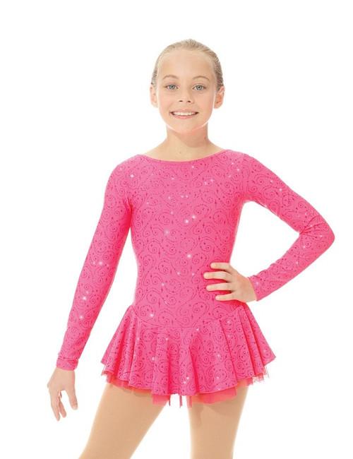 Mondor Skating Dress 664 - Coral