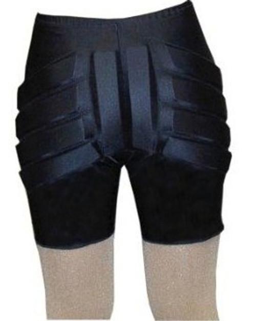 Black Silver Lining Shorts