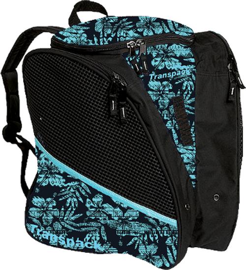 Teal Tiki Transpack Bag