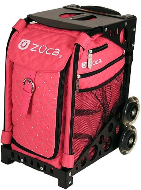 Hot Pink Zuca Bag w/Black Frame