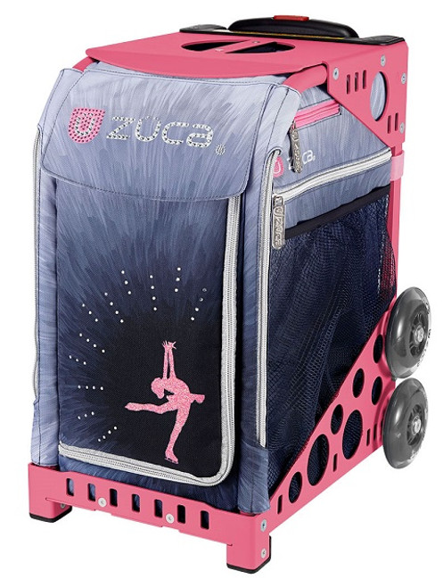 Ice Dreamz Lux Zuca Bag w/Pink Frame