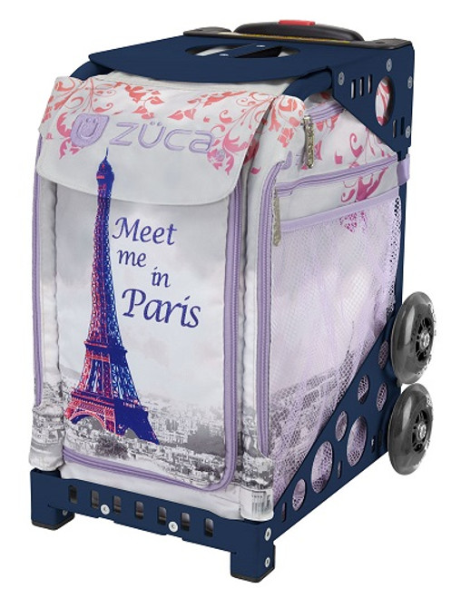 Meet Me in Paris Zuca Bag w/Purple Frame