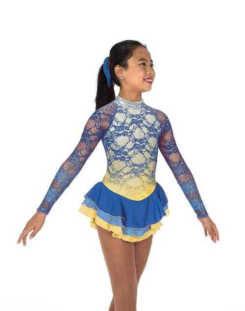 Blue Buttercup Skate Dress