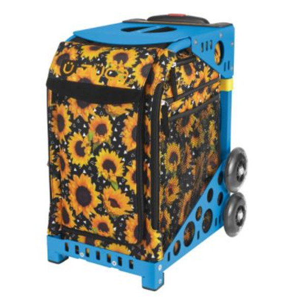 Sunflower Power Zuca w/Blue Frame