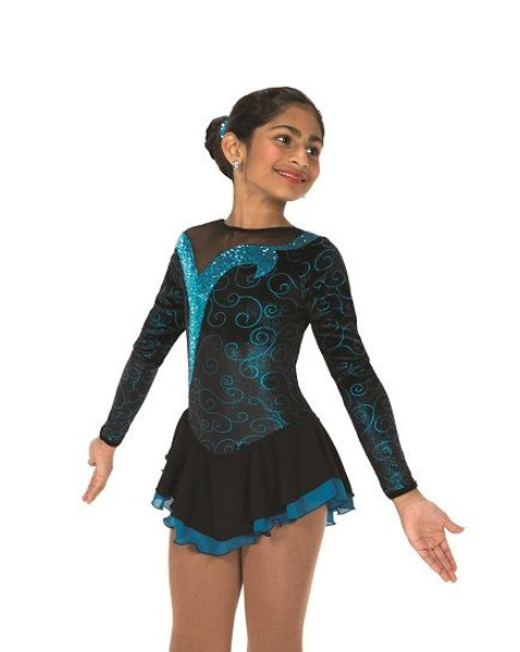 Jerry's 168 Turquoise Twizzle Skating Dress