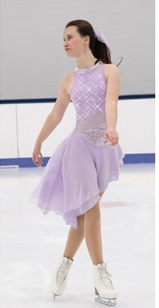 Jerry's 552 Sidestep Dance Dress - Icy Lilac