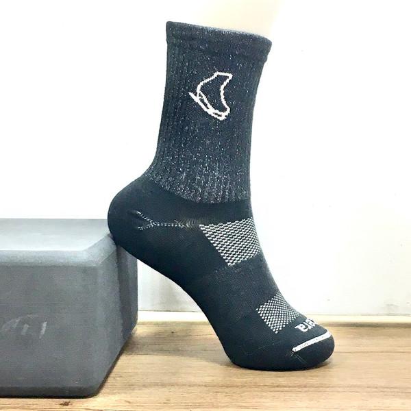 Statera Skate Sock - Black