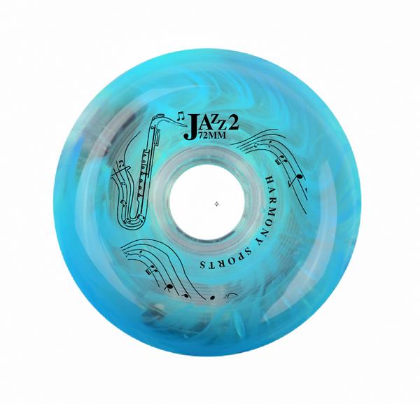 Blue Jazz 2 Wheel