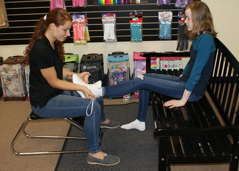Professional Figure Skate Fitting