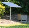 Solar aerator installation