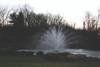 Otterbine Pond Fountain - Equinox Spray Pattern