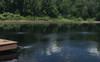 Reflective Black Dyed Pond
